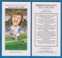 Birmingham City Kenny Burns Scotland 10